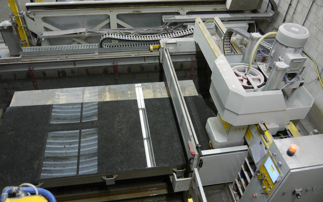 Machine om oppervlaktes te polijsten