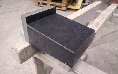 Granieten raamdorpels; van import naar eigen productie