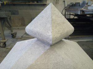 Pilaarmuts Belgisch hardsteen