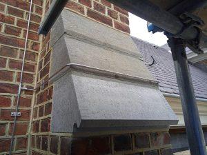 Nieuw hardsteen blok steunbeer
